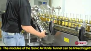 SMART™ Air Knife Tunnel from Sonic Air Systems