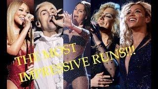 the MOST IMPRESSIVE Runs & Riffs - Singers