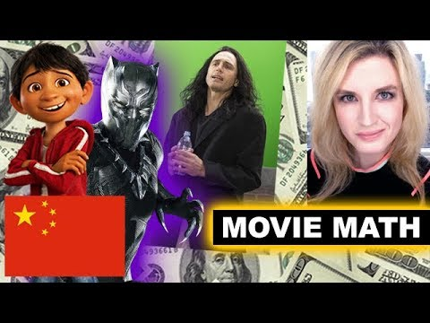 Box Office for Coco in China, The Disaster Artist, Justice League