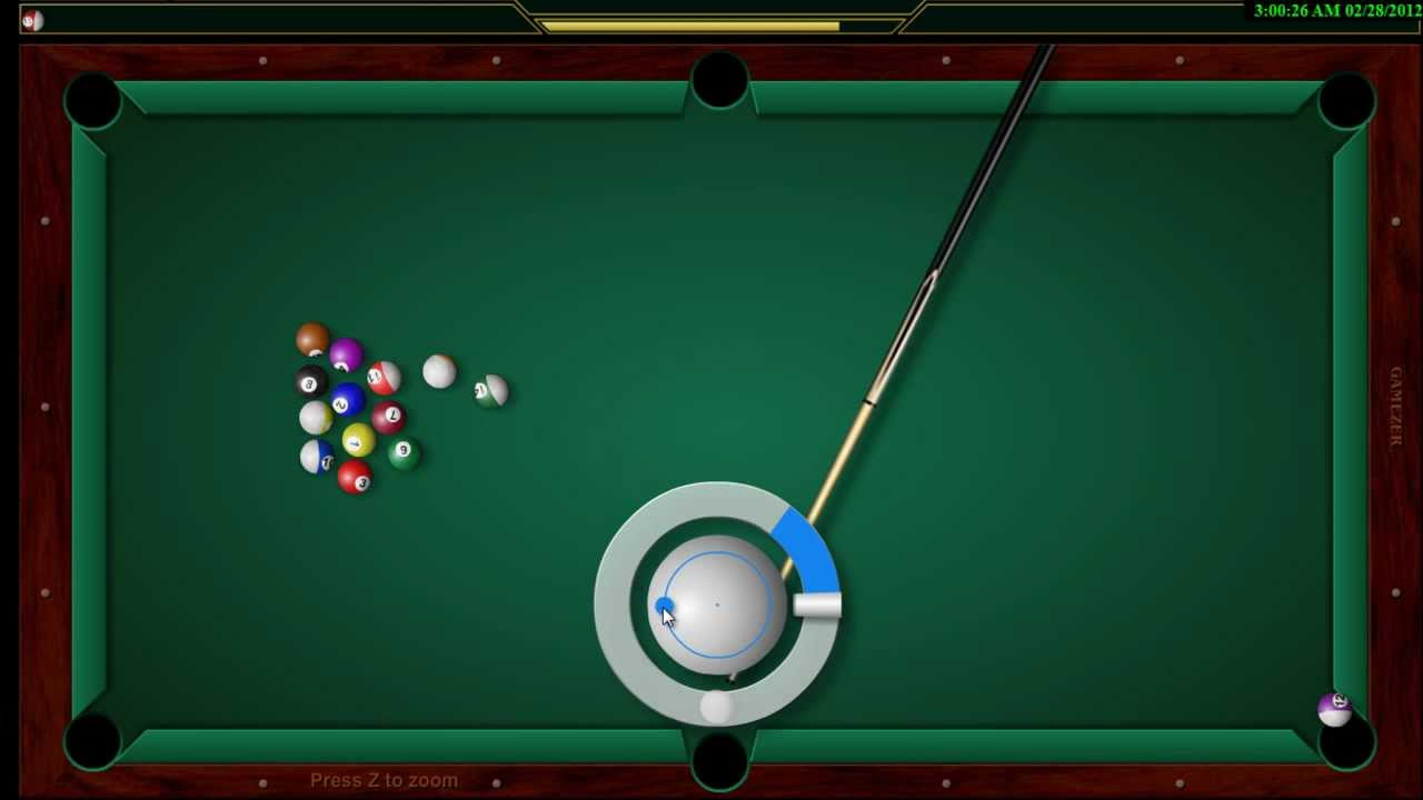 gamezer billiards