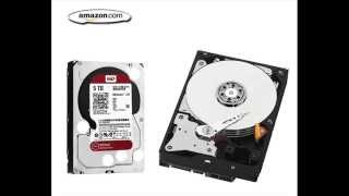 Western Digital Red 5 TB NAS Hard Drive 1 to 8 Bay 3 5 inch SATA