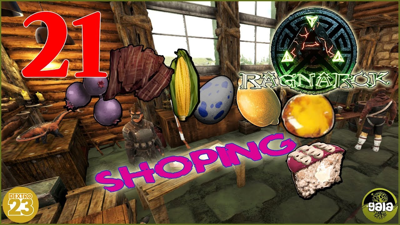 Ark Kuchen Ark Ragnarok Shoppen Gehen Kibble Und Kuchen 21 Let S Play Together Gameplay Deutsch Gaia
