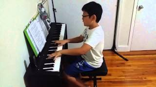 Beethoven - Piano Sonata No.14 Moonlight - III. Presto agitato @ 05/15/2015 - 11yr