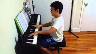 Beethoven - Piano Sonata No.14 Moonlight - III. Presto agitato @ 05/15/2015 - 11yr