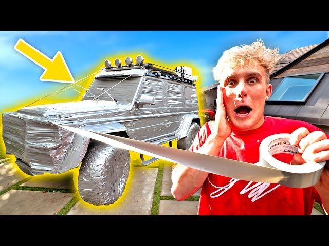 I DUCT TAPED My Brothers $400,000 Dollar TRUCK!