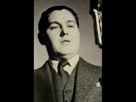 Jussi Björling's first recording - TORNA A SURRIENTO [Swe] - 1929
