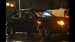 Twee Fietsers geschept door auto in Drogeham; zwaargewond naar ziekenhuis