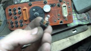 светодиоды в приборной панели