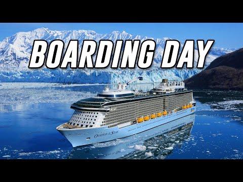 BOARDING THE SHIP! | Alaska Cruise Day 1