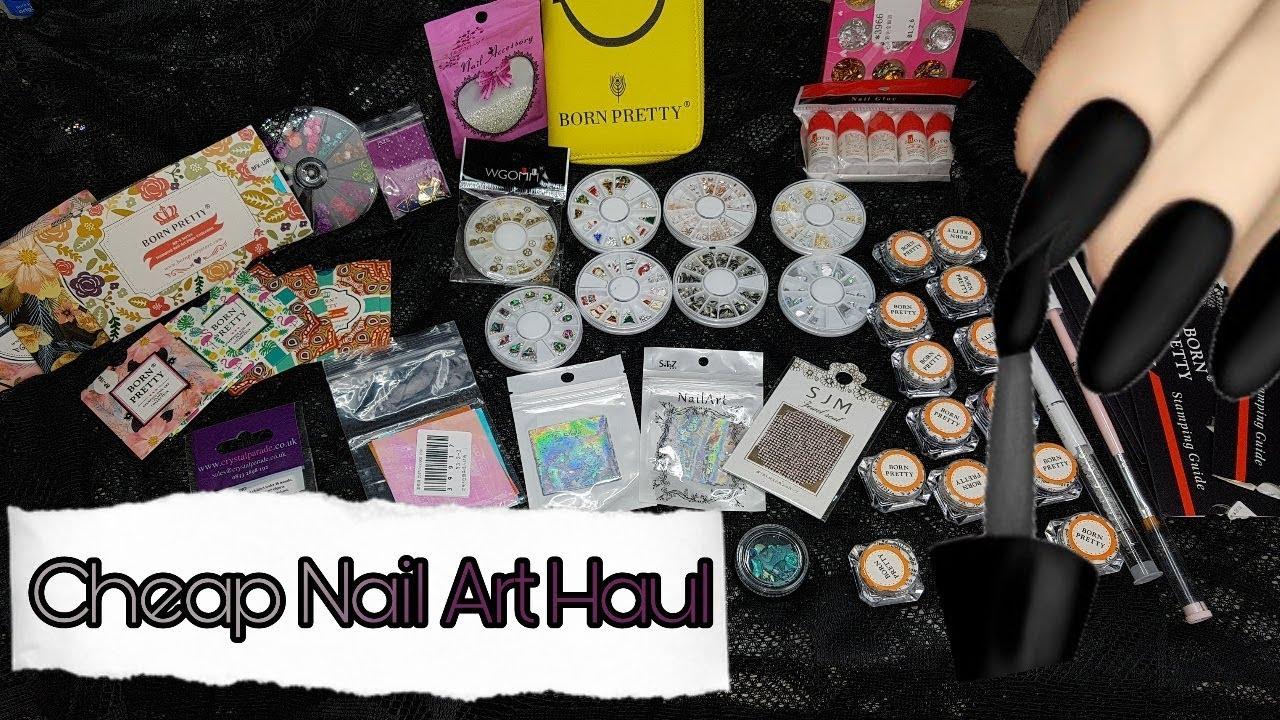 Cheap Nail Art Haul Aliexpress Born Pretty Store Youtube