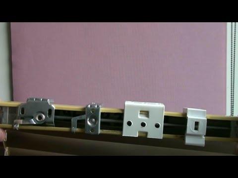 Как выбрать защёлки-крепежи для горизонтальных жалюзи