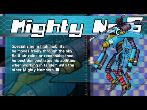 Mighty No. 9 trailer showcases the Mighty Numbers, their powers and gameplay