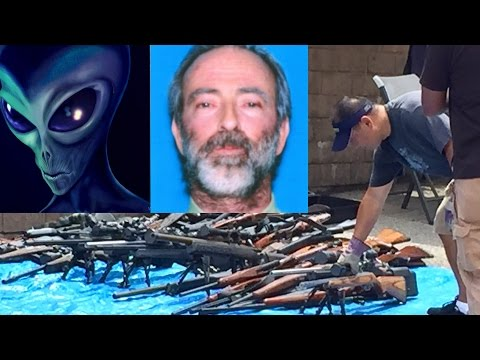 True Story of the Alien-Human-Hybrid Gun Hoarder of Los Angeles - with Zaron Burnett III