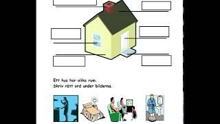 3. Tema Hus Och Hem - Arbetshäfte Av Lillemor Del 1
