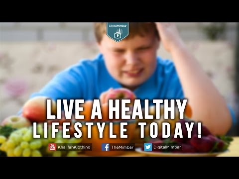 Live a Healthy lifestyle Today!