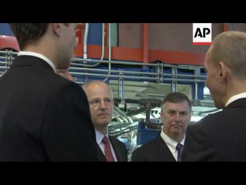 Raw: Trump Tours Boeing Facility in SC