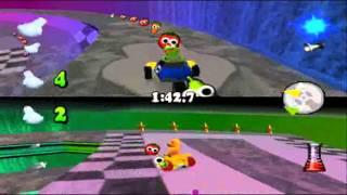 Muppet Race Mania 100% Part 137 - Laboratory - Chicken Chase