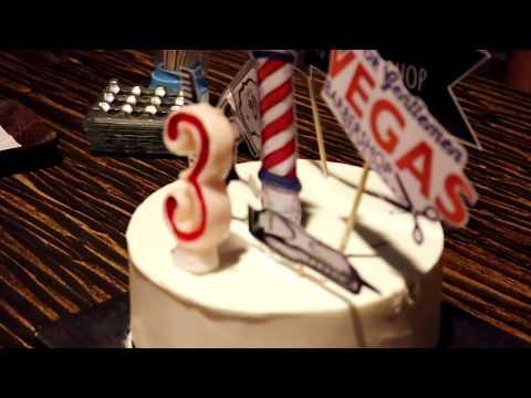 Vegas Barbershop 3 Anniversary Trip & Charity | Recap