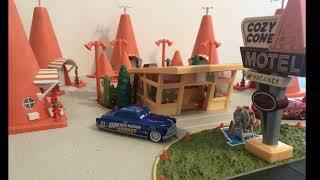 Matt's playtime. Cars 3 Thomasville speedway by Mattel
