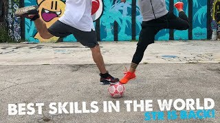 BEST FOOTBALL SKILLS IN THE WORLD! STR is back!