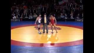 Wrestling 2013 US vs. Iran Matches