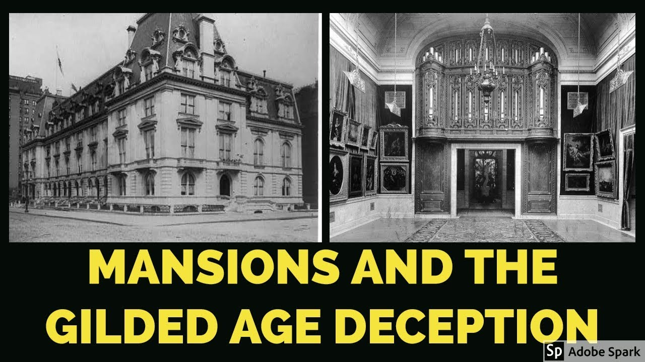 Mud Flood Mansions and the Gilded Age Deception - Mirrored
