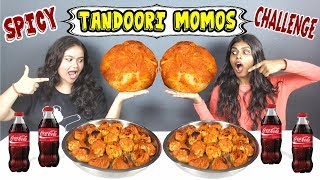 SPICY TANDOORI MOMOS EATING CHALLENGE MASSIVE MOMOS EATING COMPETITION SUPERWOMAN SERIES Ep 170