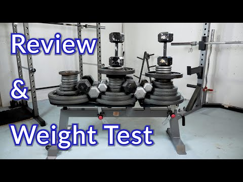 Cap Barbell Deluxe Utility Bench Review And Weight Test