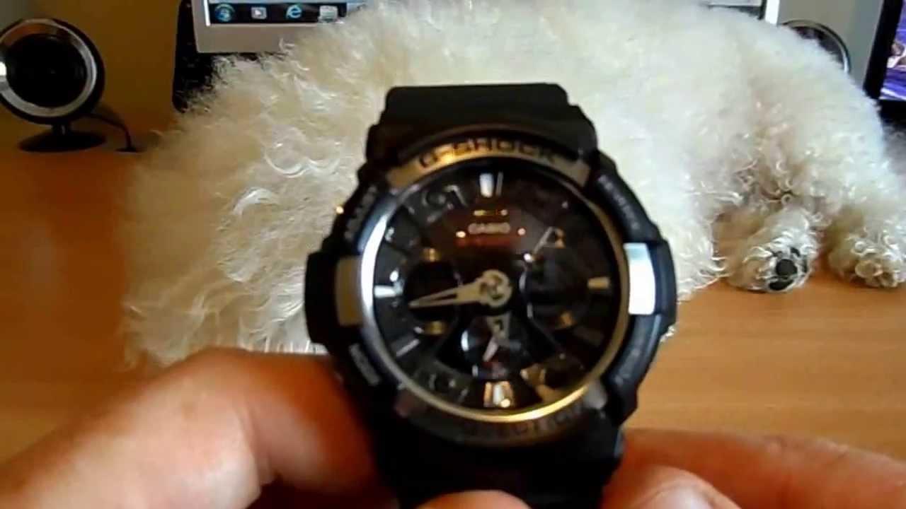 7c7762144295b6 Casio G Shock GA 200 1AER Mens Sports Watch Review - YouTube