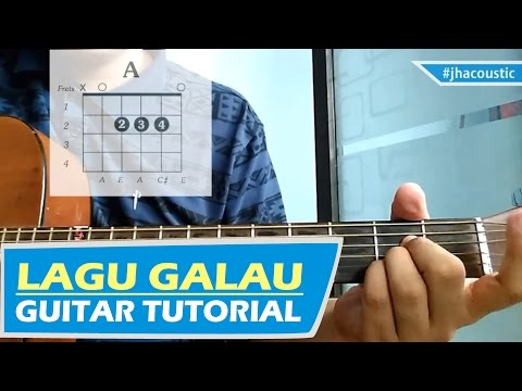 """Lagu Galau"" - Al Ghazali CHORDS / Gitar Tutorial MUDAH"