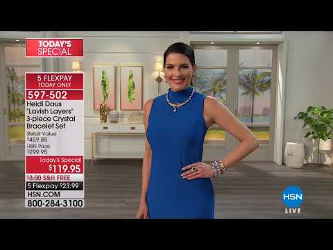 HSN | Heidi Daus Jewelry Designs 03.21.2018 - 04 PM