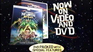 Jimmy Neutron - Boy Genius (2001) Trailer 2 (VHS Capture)