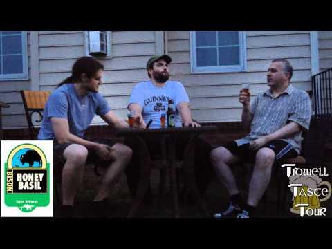 Bison Organic Honey Basil Beer Review (Berkeley, California, USA)