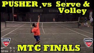 MTC Finals Tennis Highlights - Andrew vs Jon Ramthun (2018)