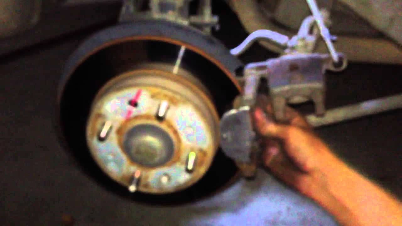 Rear Break Change 05 Kia Spectra5 Youtube