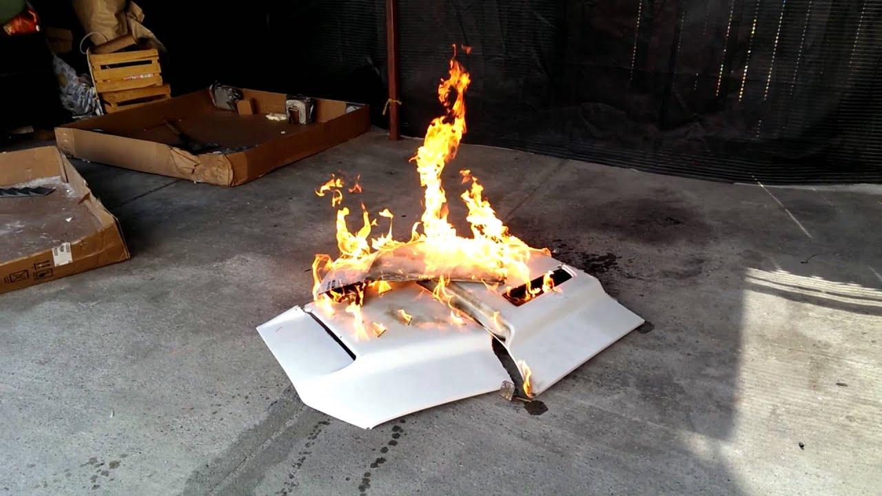 Burning The Cervini Ram Air Type 4 Hood Brand New Youtube