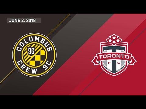 Match Highlights: Toronto FC at Columbus Crew SC - June 2, 2018