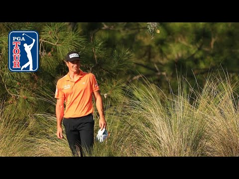 Viktor Hovland makes difficult up-and-down for birdie at WGC-Workday