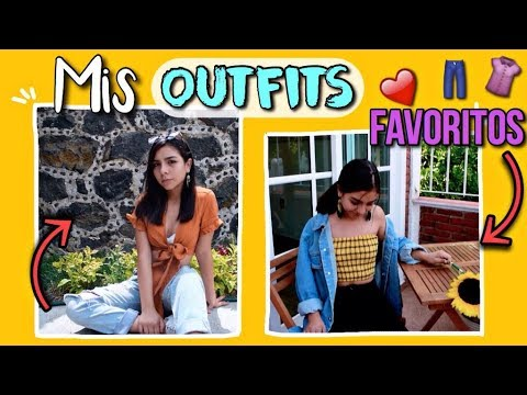 [VIDEO] - MIS OUTFITS FAVORITOS// OUTFITS TUMBLR!! 1