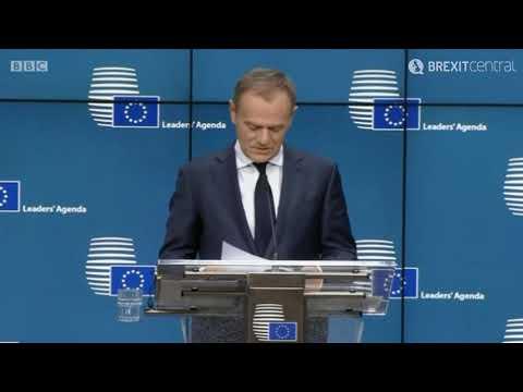 Tusk: UK Brexit plans 'pure illusion'