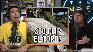 Chris Joslin 360 Flip El Toro 20 Stair - Was That A Make??