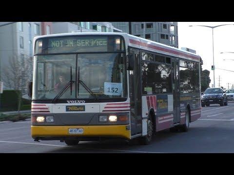Transdev leased buses at Westfield Doncaster - Melbourne Transport