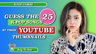 Guess The Song By Its Music Video Thumbnail! |K-POP GAME|