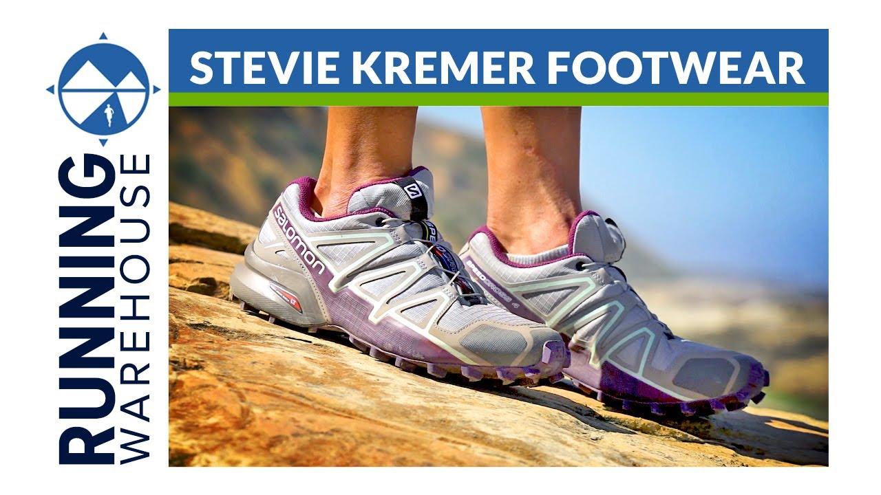 Salomon Speedcross 4 - Stevie Kremer s Shoe of Choice - YouTube 264fc170aa