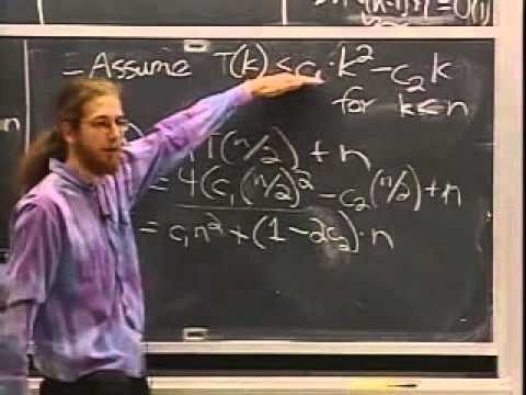 MIT's Introduction to Algorithms, Lecture 02 (visit www.catonmat.net for notes)