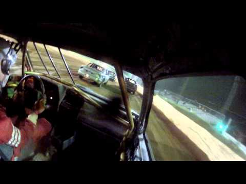 105 Speedway Eco stock FWD #13 6/22/12 in car