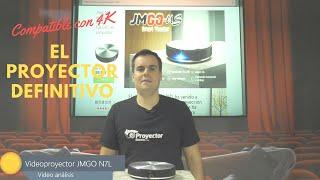proyector 4K JMGO N7L el videoproyector definitivo para 2019