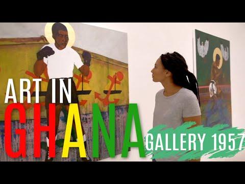 THINGS TO DO IN GHANA ACCRA | Art Scene In Ghana | Gallery 1957