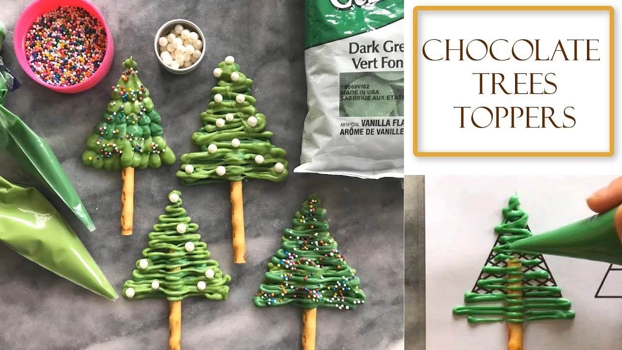 how to make chocolate christmas tree decorations simple easy