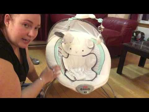 Review: fisher price swing and bouncer